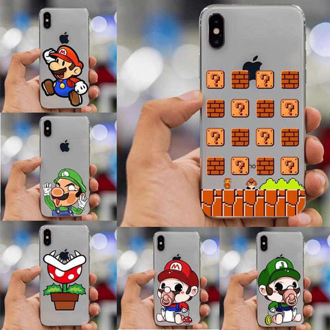 coque iphone xs mario