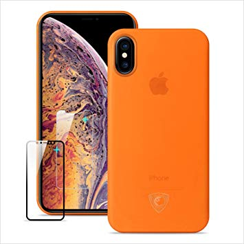coque iphone xs max orange