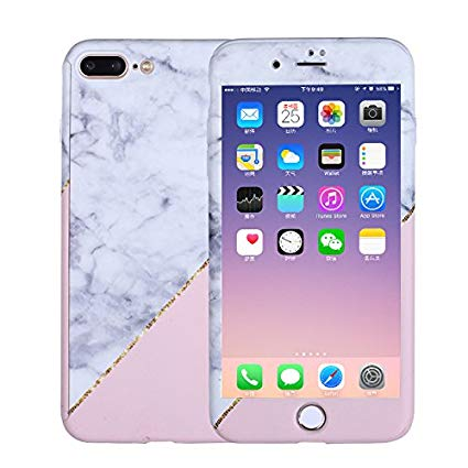 coque marbre iphone 7 plus rigide