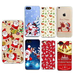 coque noel iphone 7