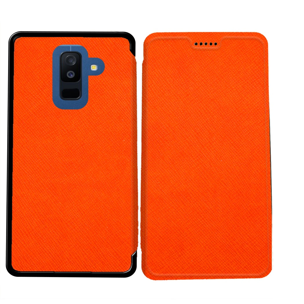 coque orange samsung a6 2018