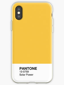 coque pantone iphone xs