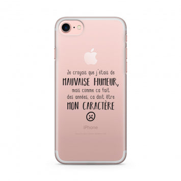 coque phrase iphone 7