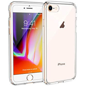 coque plastique transparent iphone 8