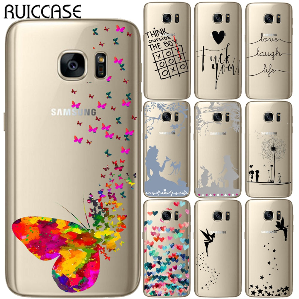 coque s7 edge samsung love