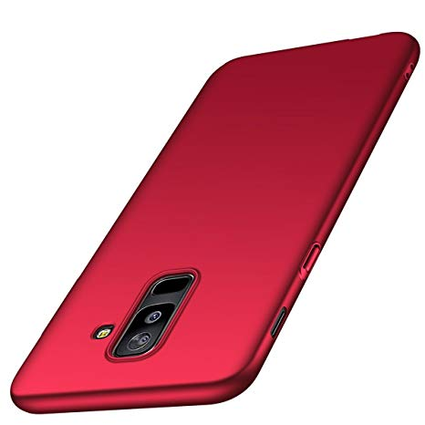 coque samsung a6 plus 2018 rouge