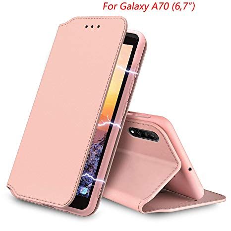 coque samsung a70 rose gold