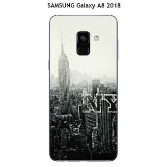 coque samsung a8 2018 new york