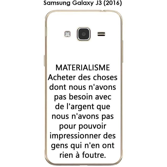 coque samsung j3 2016 a message