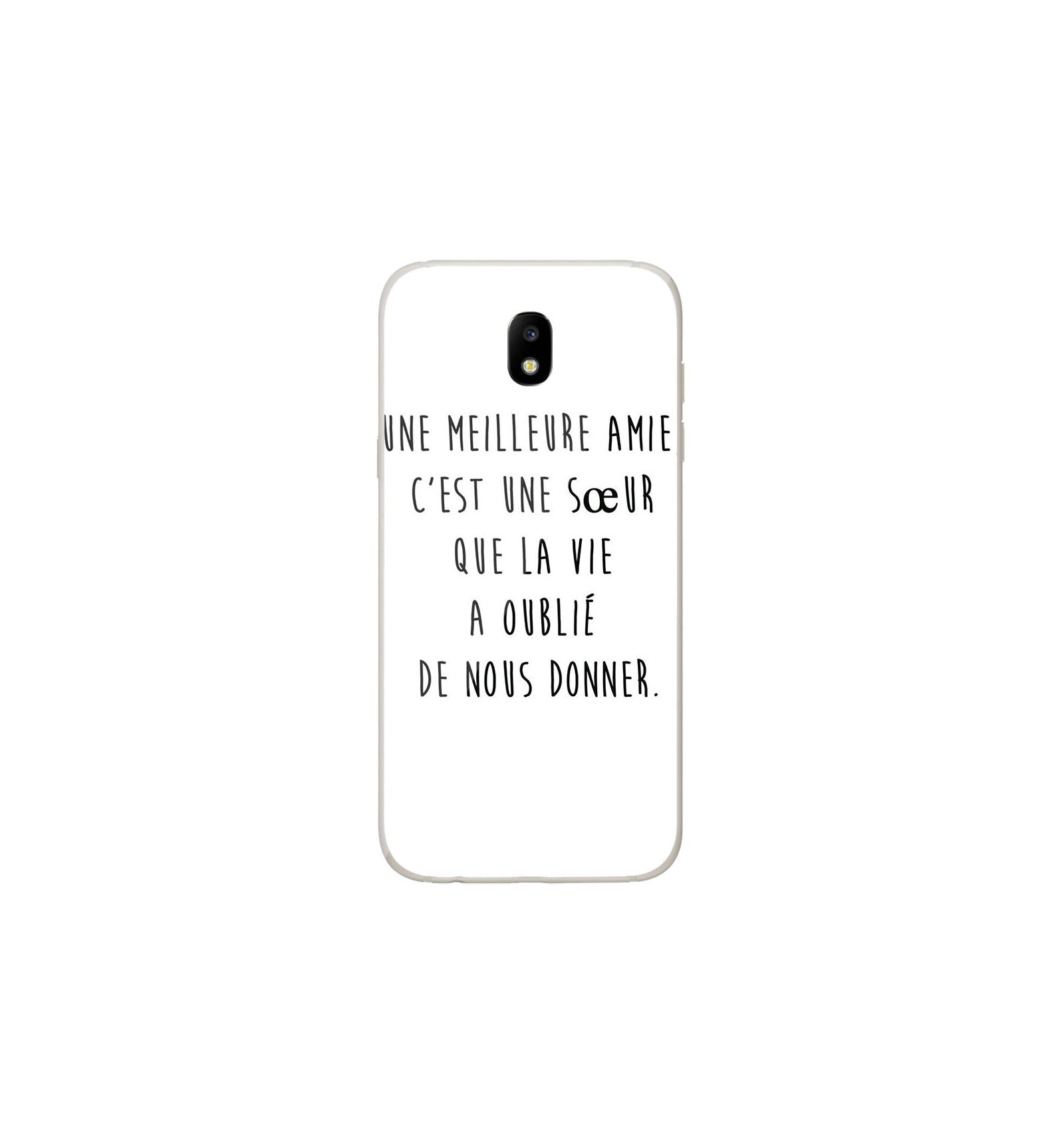 coque samsung j3 2017 citations drole