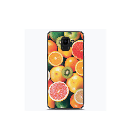 coque samsung j6 2018 fruits