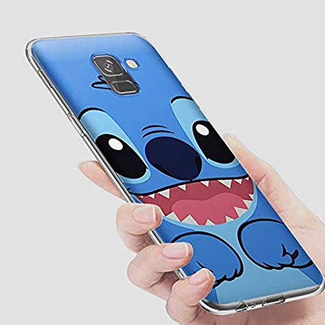 coque samsung j6 plus 2018 stitch