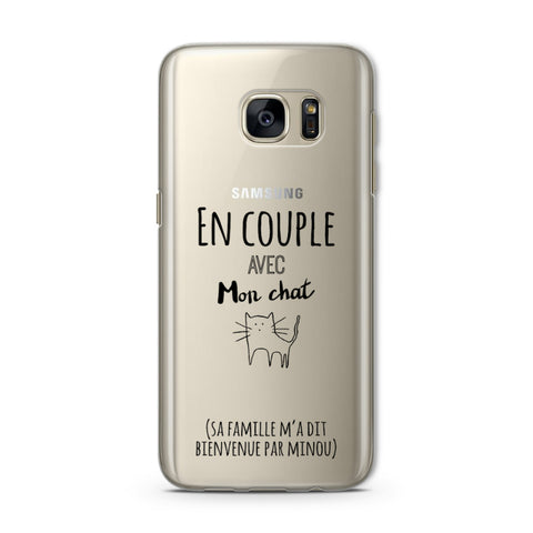 coque samsung s7 edge chat