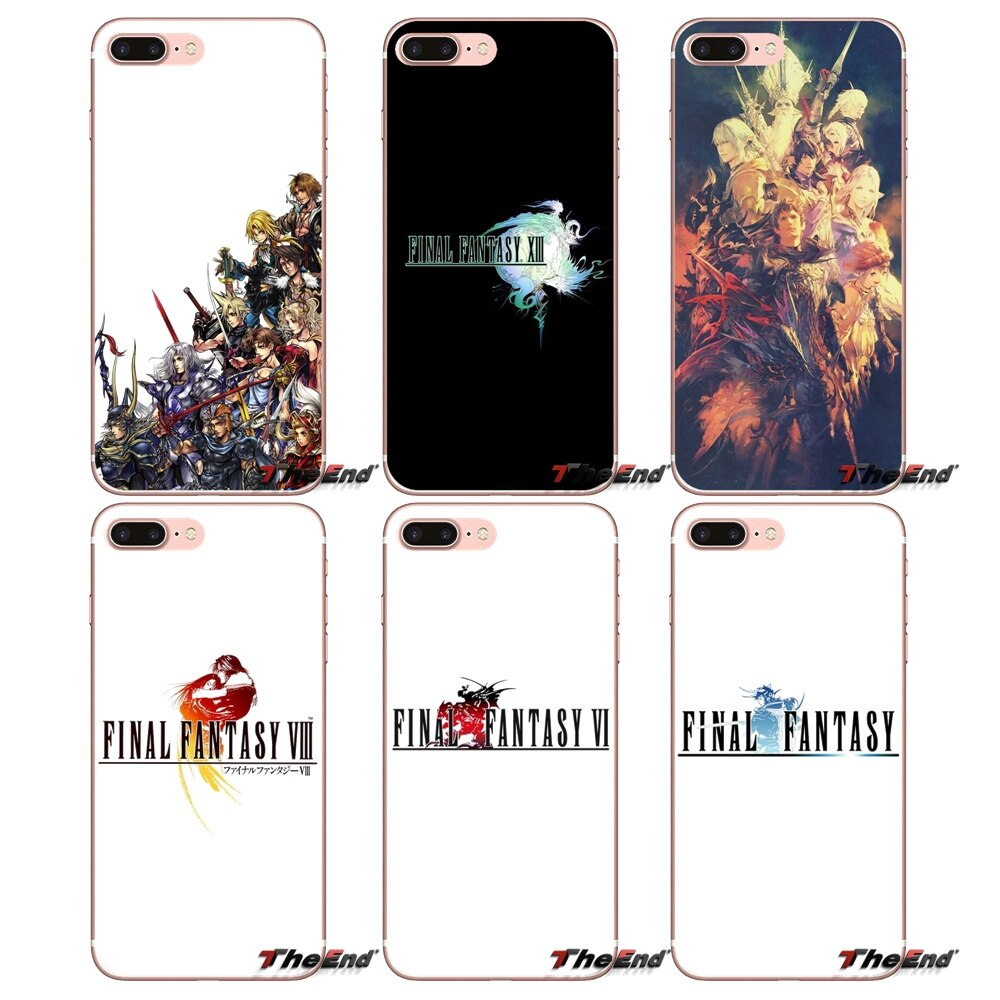 coque iphone 8 final fantasy 15