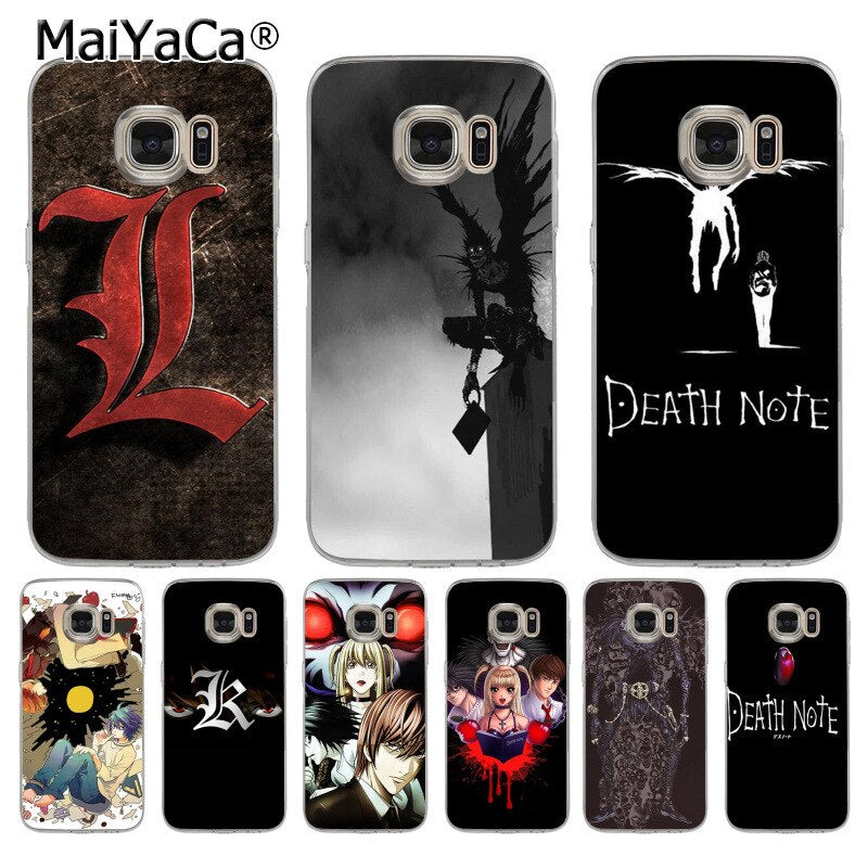 coque samsung s8 death note