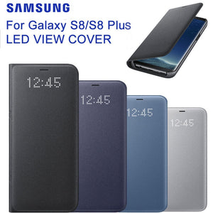 coque samsung s8 plus view cover led
