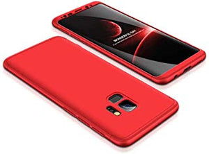 coque samsung s9 rouge mat