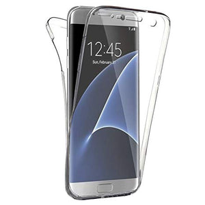 coque silicone gel integral galaxy s7 samsung transparent