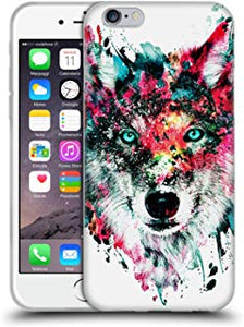 coque silicone iphone 6 loup