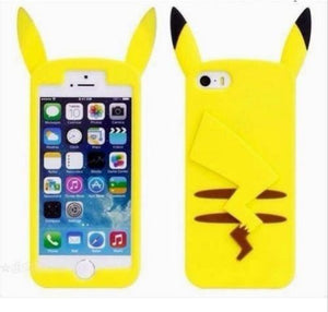 coque silicone iphone 6 pikatchu