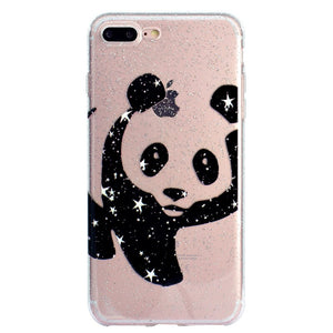 coque silicone iphone 8 panda