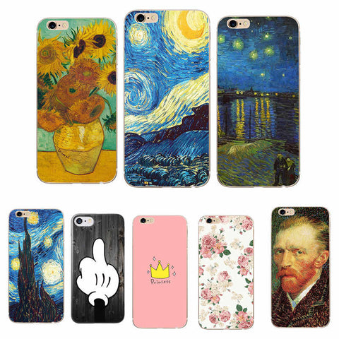 coque van gogh iphone 8 plus