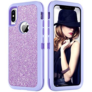 coque violette iphone xs