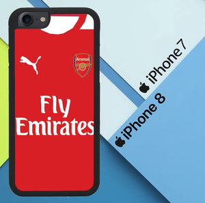 Arsenal Fc X4285 coque iPhone 7 , iPhone 8