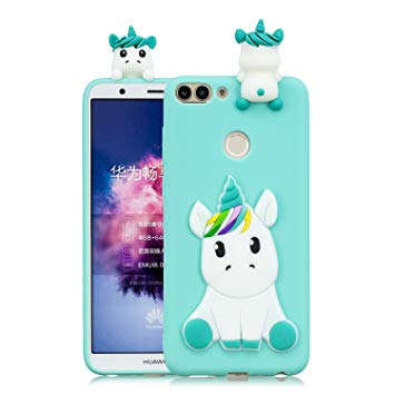 huawei p smart coque licorne