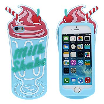 iphone 5 coque silicone 3d