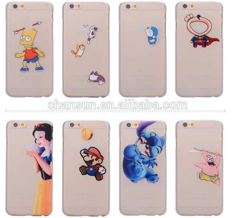 iphone 6 coque transparente dessin
