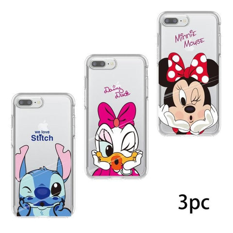 iphone 7 plus coque silicone disney