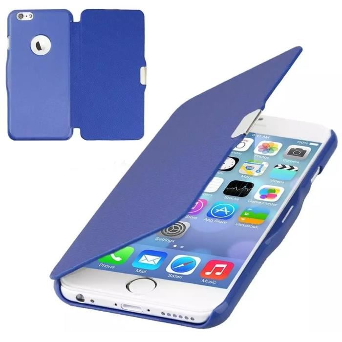 iphone 8 coque a rabat