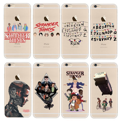 iphone 8 coque stranger things