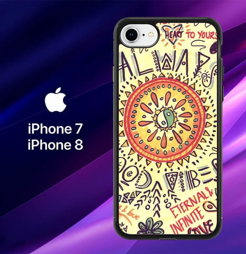 coque iphone 8 psychedelic