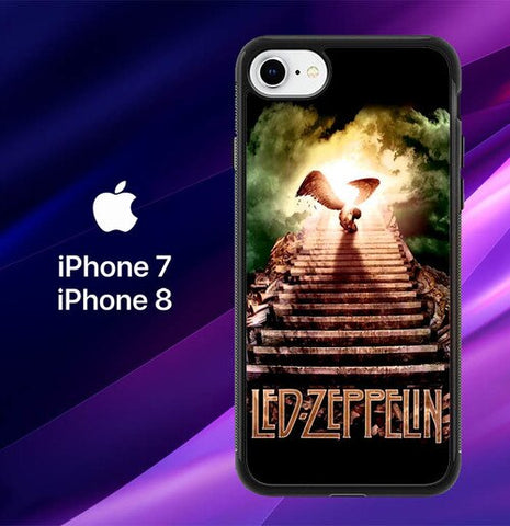 Led Zeppelin Stairway to Heaven L2491 coque iPhone 7 , iPhone 8