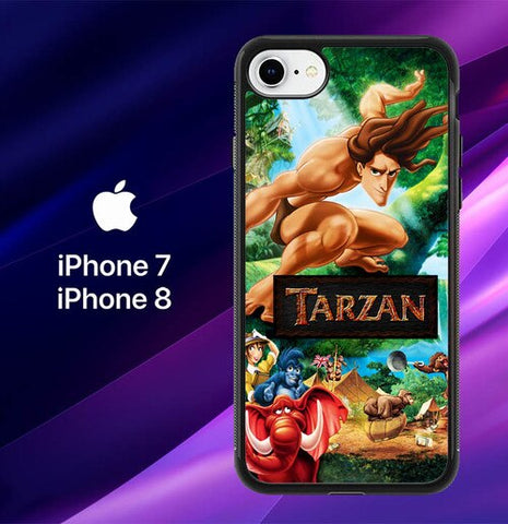 Walt Disney Tarzan Y0412 coque iPhone 7 , iPhone 8