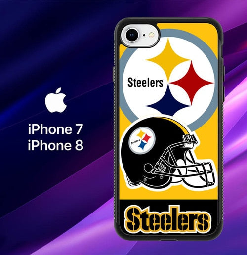 Pittsburgh Steelers W3025 coque iPhone 7 , iPhone 8