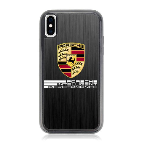 porsche intelligent performance logo Z3871 iPhone X, XS coque