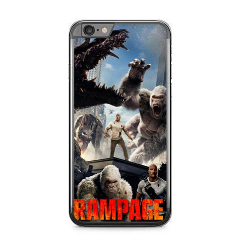 rampage movie Z7128 iPhone 6 Plus, 6S Plus coque