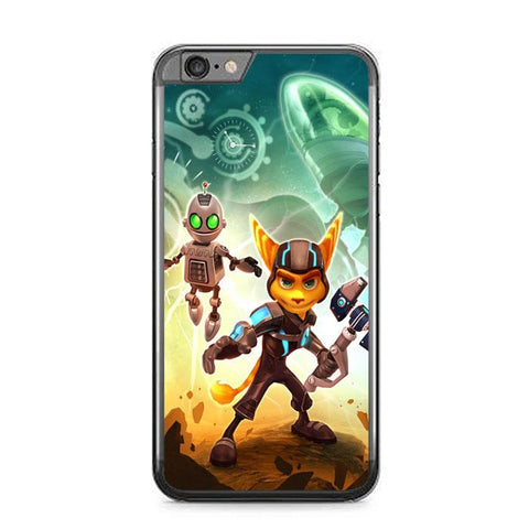 ratchet and clank Z1150 iPhone 6 Plus, 6S Plus coque