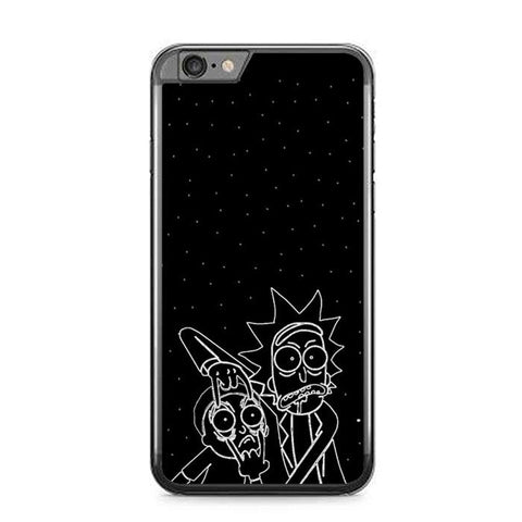 rick and morty art Z4547 iPhone 6 Plus, 6S Plus coque