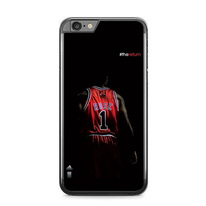 rose 1 chicago bulls Z5367 iPhone 6 Plus, 6S Plus coque