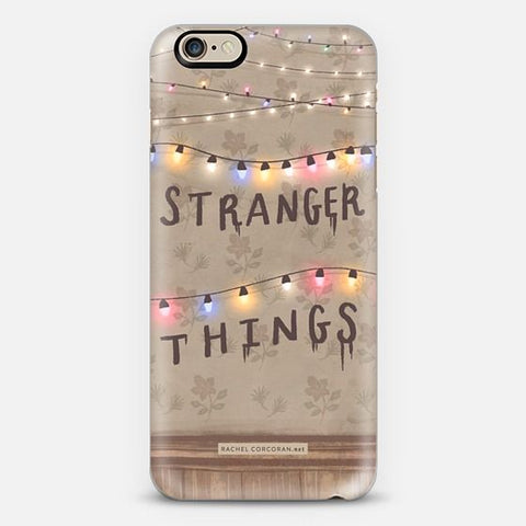 stranger things merchandise coque iphone 6