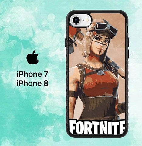 Fortnite Renegade P0378 iPhone 7 , 8 Case