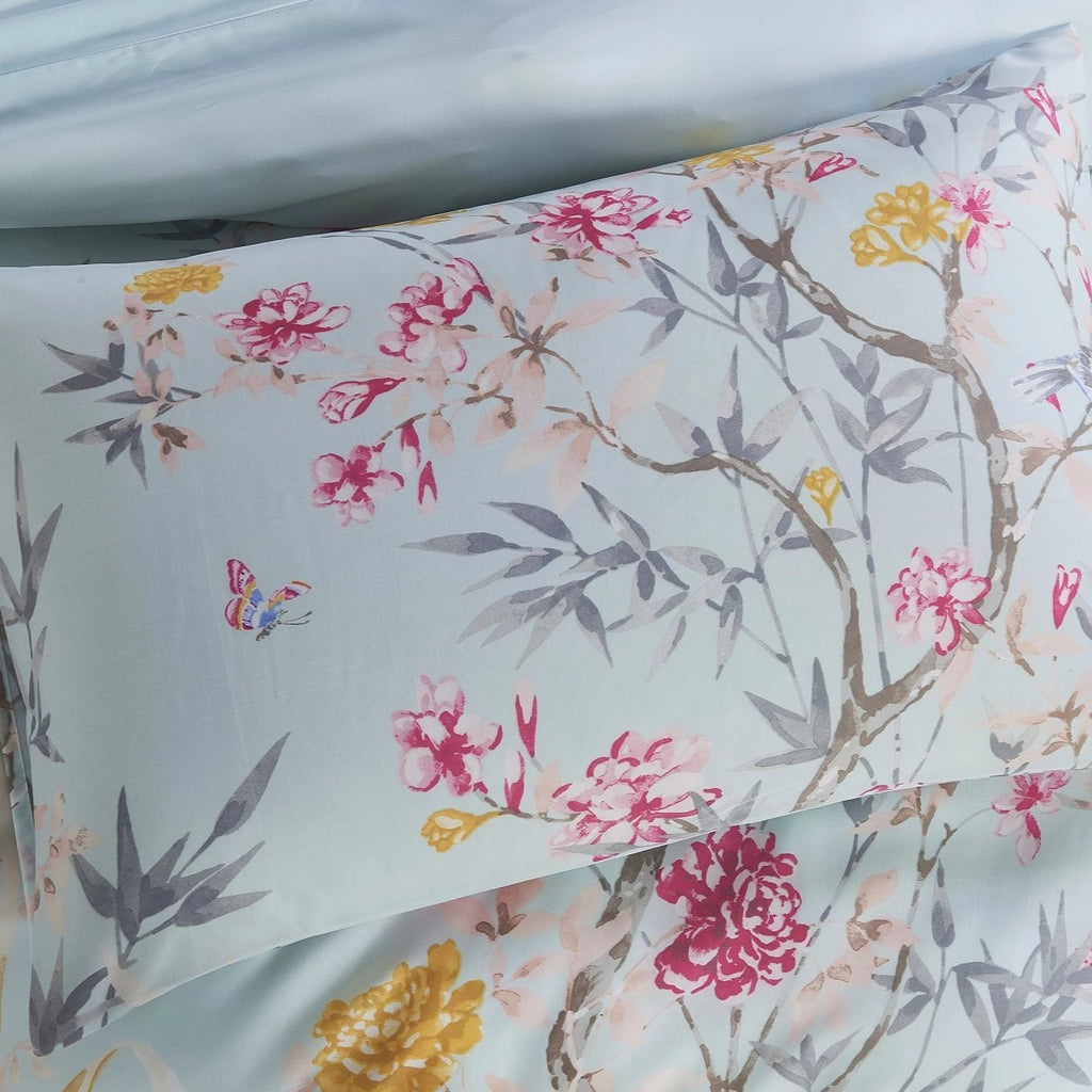 CHINOISERIE - CONTEMPO ATELIER QUILT COVER SET 300TC 80% TENCEL™ 20% COTTON