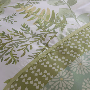 GREEN VALLEY - CONTEMPO ATELIER QUILT COVER SET 300TC 80% TENCEL™ 20% COTTON