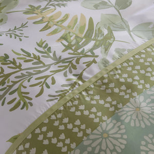 GREEN VALLEY - CONTEMPO ATELIER FITTED SHEET SET 300TC 80% TENCEL™ 20% COTTON