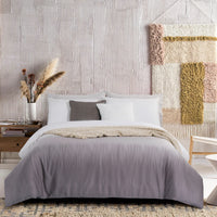 FASTINO - LOFT PRIVE FITTED SHEET SET 300TC 50% TENCEL 50% BAMBOO