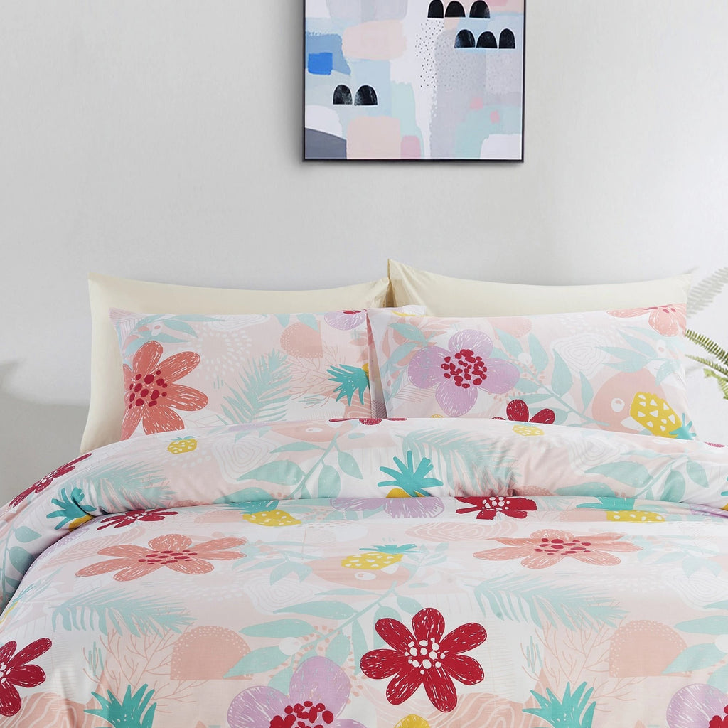 IRMA - INSPIRO QUILT COVER SET 200TC 100% COTTON